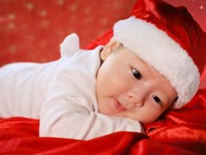 Đời sống Showbiz - Con trai Nhật Kim Anh siêu đáng yêu trong bộ ảnh Noel