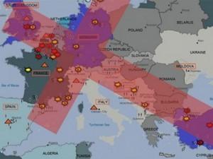 Thế giới - IS sẽ tấn công châu Âu theo hình cây thánh giá?