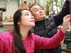 Thanh Thanh Hiền trẻ trung dịu dàng bên Xuân Hinh