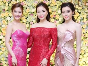 Thời trang - Top 3 Hoa hậu Việt Nam 2014 gợi cảm đọ sắc