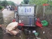 Video An ninh - Xe chở cá tông bay hai xe máy, 4 học sinh thương vong