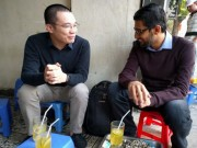 """Doanh nhân - CEO Google """"trà chanh chém gió"""" với Nguyễn Hà Đông"""
