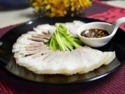 Ẩm thực - Cách luộc thịt lợn trắng, thơm và không bị khô