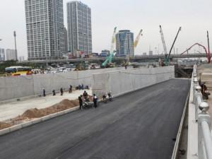 Tin tức Việt Nam - Hai hầm chui lớn nhất Hà Nội sắp được thông xe