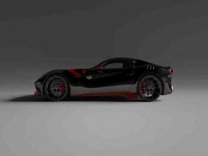 Vitesse AuDessus sẽ tung gói nâng cấp sợi carbon dành cho xe F12tdf