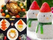 Ẩm thực - Thực đơn độc đáo, dễ làm cho tiệc Noel ấm cúng tại nhà