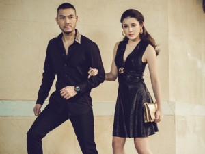 Váy - Đầm - Huyền My tình tứ với chồng Quỳnh Nga trong bộ ảnh mới