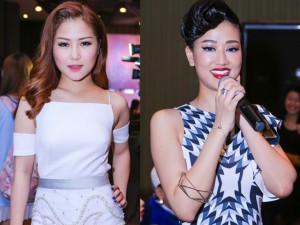 Giải trí - Hương Tràm, Maya đọ gợi cảm tại The Remix 2016