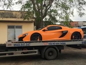 Ô tô - Xe máy - McLaren 650S Spider đầu tiên về Việt Nam