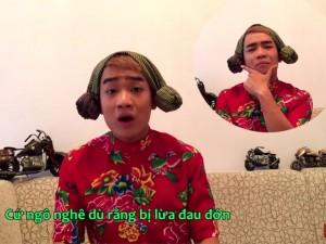 Clip chế: Duy Nam cover hit của Tiên Tiên tặng FA dịp Noel