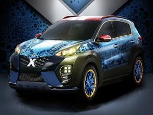 Kia tung phiên bản Sportage X-Men đặc biệt