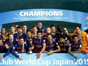 Bóng đá Ý - 100 cầu thủ hay nhất đương đại: Thế giới của Barca