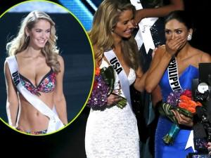 Thời trang - Hoa hậu Mỹ bị dọa giết vì cười khi MC trao nhầm giải