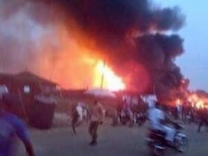 Nigeria: Nổ lớn khiến hơn 100 người thiệt mạng