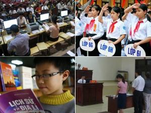 Những vấn đề giáo dục gây tranh cãi năm 2015