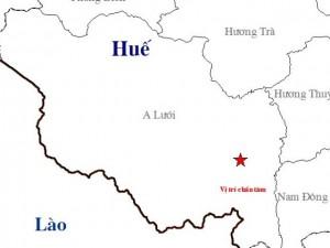 Tin tức trong ngày - Thừa Thiên- Huế: Động đất lần thứ 6 trong tháng 12