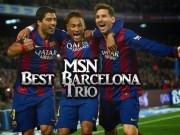 Bóng đá - Đội hình siêu sao 2015: Không CR7, có bộ ba Barca