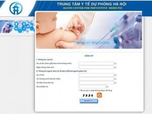 Sức khỏe đời sống - Cách đăng ký tiêm vắc xin Pentaxim cho con tại Hà Nội