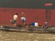 """Video An ninh - TP.HCM: 4 """"kình ngư"""" mò lên tàu nước ngoài trộm cắp"""