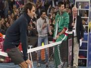 """Thể thao - Federer 2015: Những pha làm """"đứng hình"""" Djokovic"""