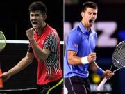 Thể thao - Djokovic kiếm tiền gấp 700 lần VĐV cầu lông số 1