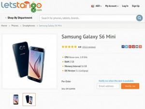 Lộ điện thoại Galaxy S6 Mini màn hình 4,6 inch