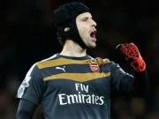Bóng đá - Arsenal lên ngôi đầu, Wenger ca ngợi kỉ lục của Cech