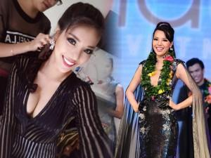 ' Siêu mẫu 2015 '  Khả Trang đính chính tin đồn mua giải