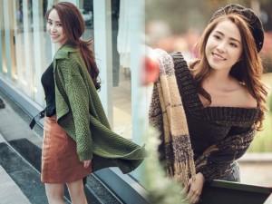 Thời trang - 'Cá sấu chúa' Quỳnh Nga gợi ý diện đẹp đi chơi tết