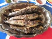 """Ẩm thực - Thòi lòi biển nướng than, món cá """"kỳ lạ nhất hành tinh"""""""