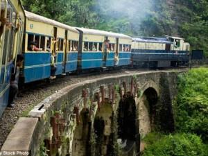 Thế giới - Ấn Độ: Bé sơ sinh lọt bồn cầu, rơi xuống đường tàu