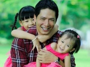 Bình Minh tiết lộ bí quyết nuôi dạy hai công chúa nhỏ