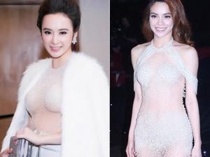 Thời trang - Angela Phương Trinh lại gây 'bão' với áo xuyên thấu