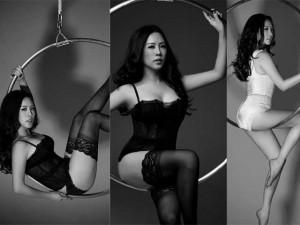 Người mẫu - Hoa hậu - Người đẹp Thu Hoài tung ảnh nội y chào năm mới