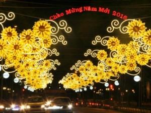 Tin tức trong ngày - Đường phố Sài Gòn lung linh trước thềm năm mới 2016