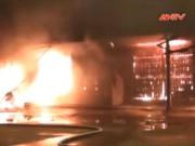 Video An ninh - Clip cảnh sát 3 tỉnh trắng đêm dập cháy chợ Phủ Lý