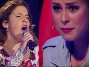 Thí sinh 'The Voice Kids' Đức khiến giám khảo bật khóc