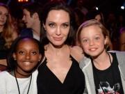 Angelina Jolie tất tả lo điều trị tâm lý cho các con sau ly hôn