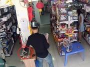 An ninh Xã hội - Clip: Thanh niên đi xe SH trộm Iphone nhanh như chớp