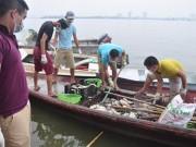 Cá chết Hồ Tây: Nhà máy 1.000 tỉ phải  ' xin '  nước thải