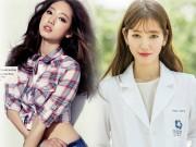 """Cách giảm cân thần tốc của  """" bác sĩ """"  Park Shin Hye"""