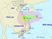 Tin tức trong ngày - Áp thấp nhiệt đới mạnh cấp 6 xuất hiện trên Biển Đông
