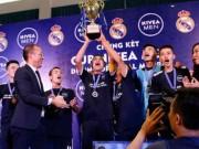 Nhà vô địch FC Thành Đồng hồi hộp chờ  giờ G  đến Real Madrid