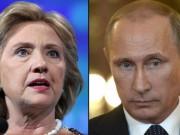 """Vì sao ông Putin  """" sợ """"  bà Clinton làm Tổng thống Mỹ?"""