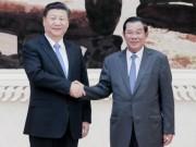 """Campuchia: Lãnh đạo đảng thân TQ bất ngờ  """" phê """"  Bắc Kinh"""
