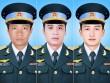 Thăng quân hàm 3 phi công hy sinh trên máy bay gặp nạn