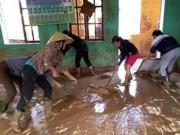 Giáo dục - du học - Mưa lũ tàn phá trường học, cơ sở giáo dục ở Quảng Bình