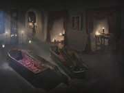 """Du lịch - Ngủ đêm trong quan tài ở lâu đài """"ma cà rồng"""""""