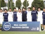 Sao  bóng đá phủi  Việt Nam thích thú tập cùng đồng sự Zidane