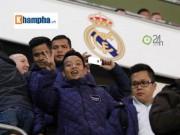 Cầu thủ phong trào Việt Nam làm khách VIP ở Real Madrid